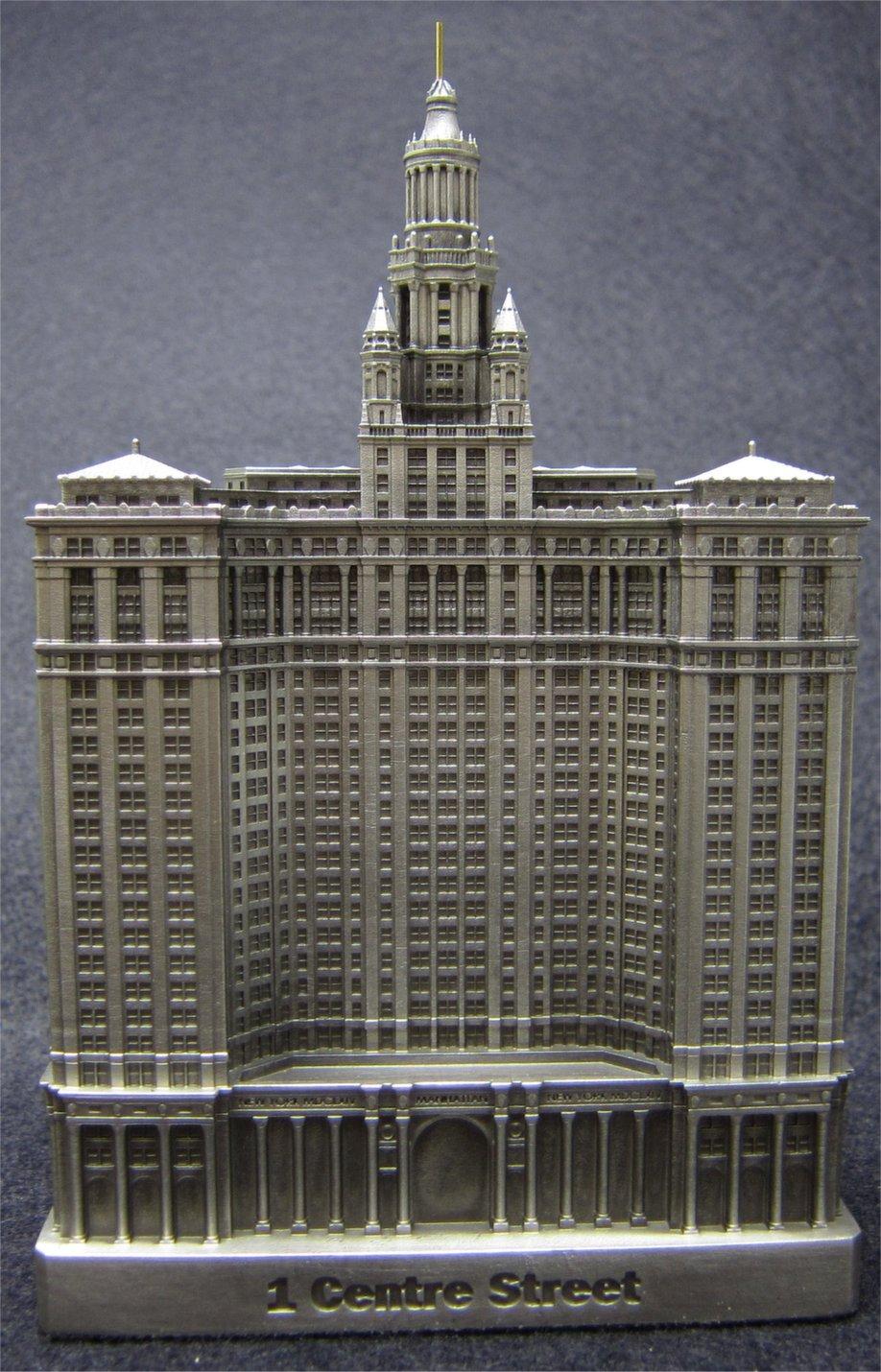 Manhattan Municipal Building: InFocusTech Replica Buildings