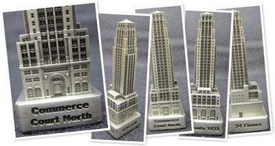 View Commerce Court North- 150' Scale