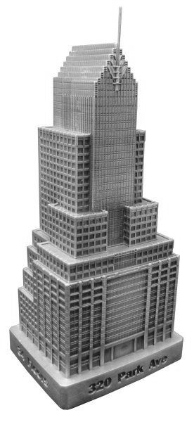 Replica Buildings Infocustech 320 Park Avenue 100 New