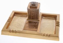 Moreschi Building Desk Set