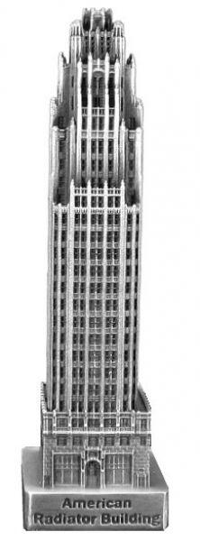 Replica Buildings Infocustech American Radiator Building
