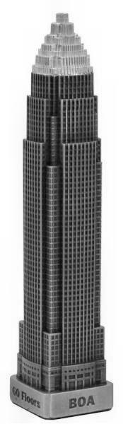 Replica Buildings Infocustech Boa Charlotte 150 North