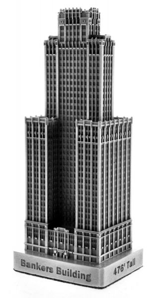 Replica Buildings Infocustech Bankers Building 100