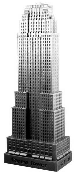 Replica Buildings Infocustech Carew Tower 100 Ohio 225