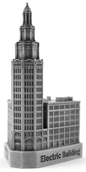 Replica Buildings Infocustech Electric Building