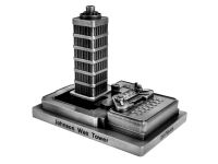 Johnson Wax Tower (antique pewter finish)