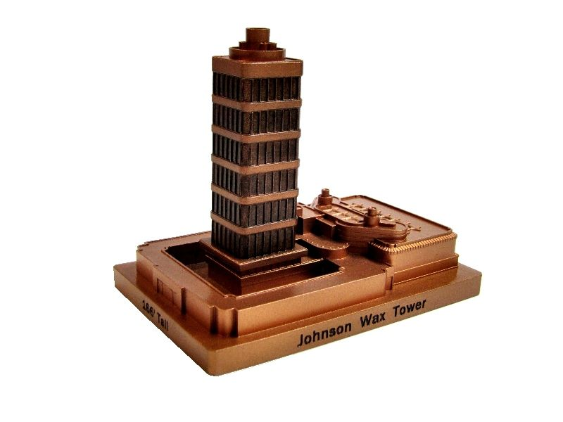 Johnson Wax Tower (copper finish)