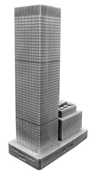 Replica Buildings Infocustech Jpmorgan Chase Tower 150