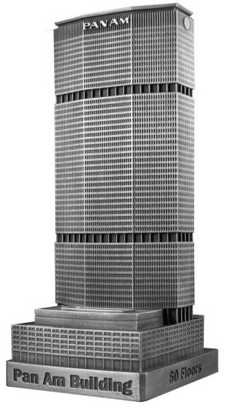 Replica Buildings Infocustech Pan Am 150 New York City