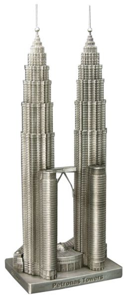 Replica Buildings Infocustech Petronas Towers 150 Misc