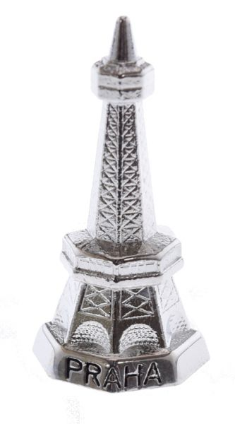 "Petrin Lookout Tower Small 1.5"" Tall Silver"