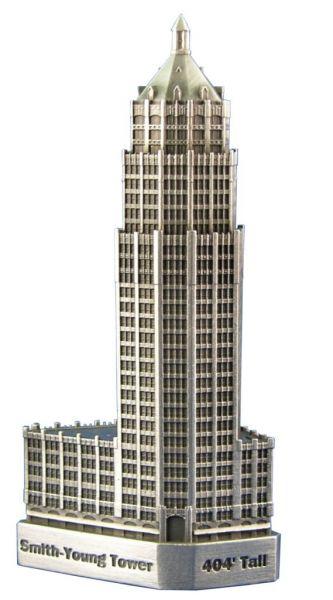 Replica Buildings Infocustech Smith Young Tower 100