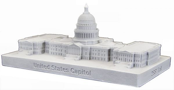 United States Capitol 150 (White)