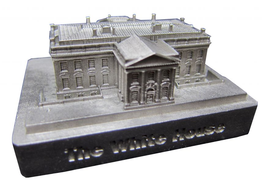 White House 100- New Pewter